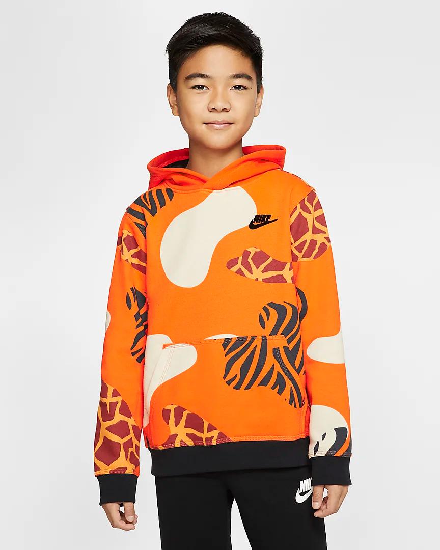 Nike Sportswear Club Fleece Big Kids Boys Pullover Hoode Nike Com In 2020 Boys Pullovers Kids Outfits Big Kids [ 1080 x 864 Pixel ]