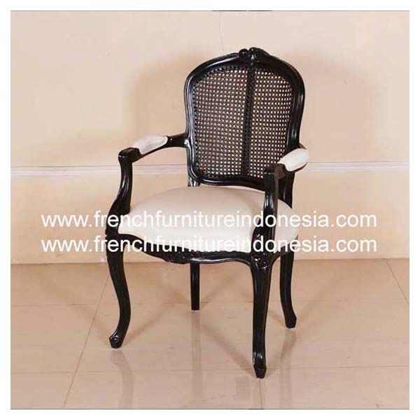 Order Louis XV Arm Chair With Cane U0026 Uph From French Furniture Indonesia.  We Are