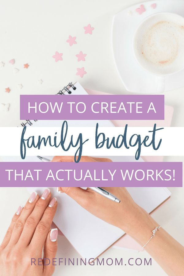How To Create An Ideal Family Budget That Actually Works Pinterest