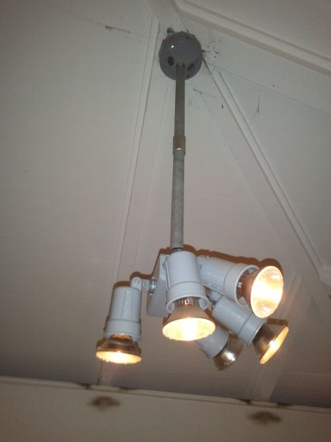 Conduit Mounted Pod Lighting Cluster Conduit Lighting Ceiling Lights Lighting