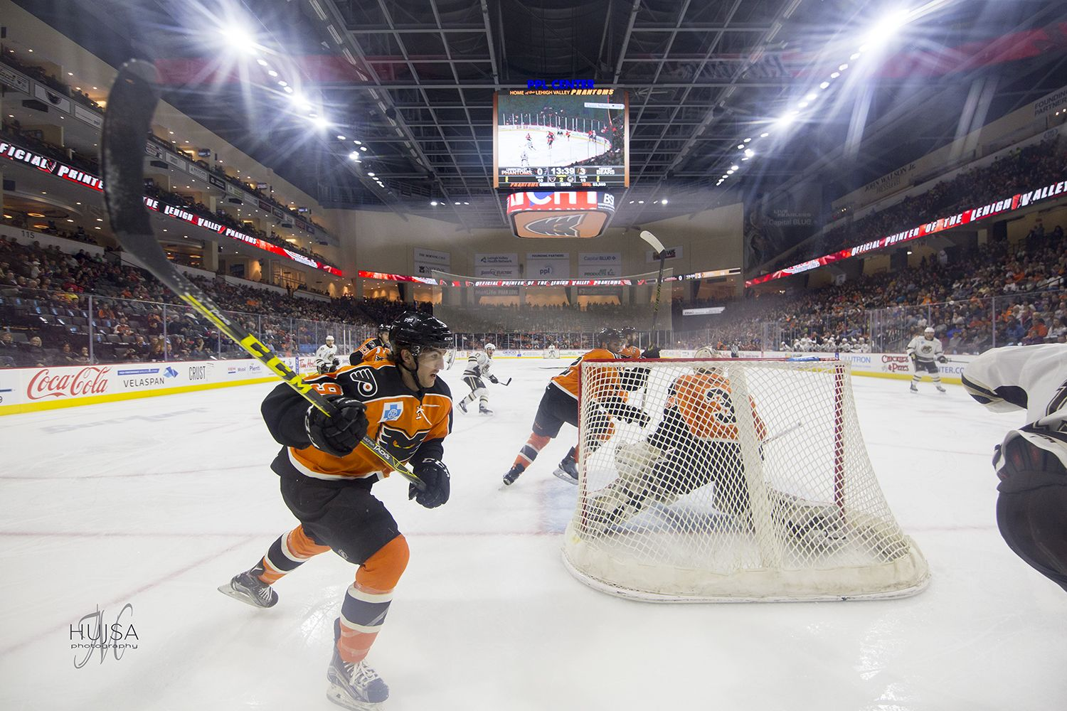 Photo Recap of Wednesday Night's Hershey Bears vs the Phantoms Game