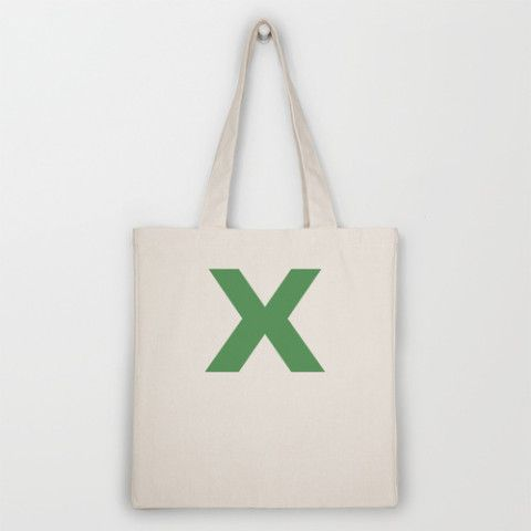 X is for... Tote Bag by Project M