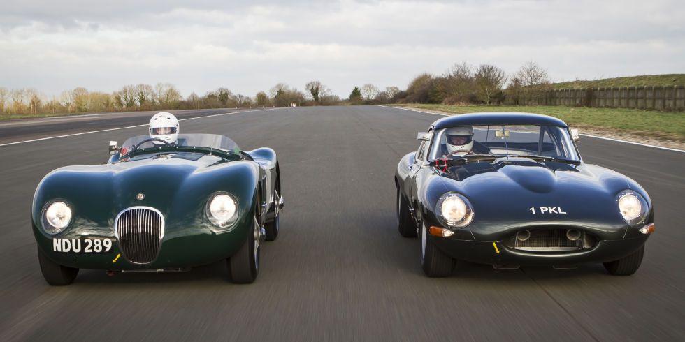 Jaguar heritage challenge series takes classics racing