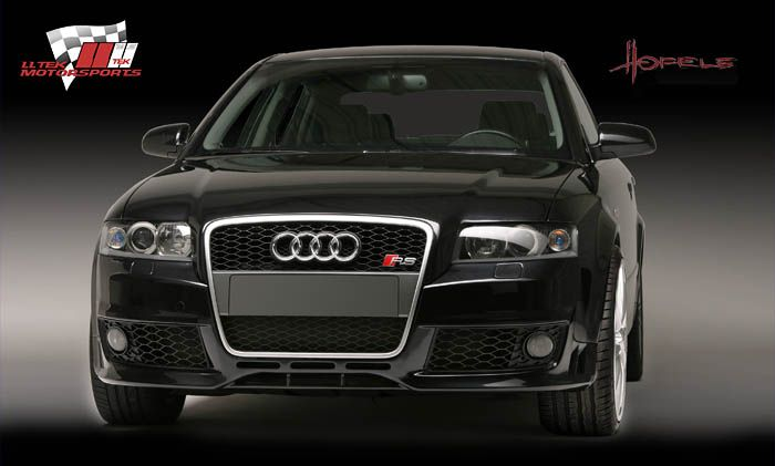 Audi A4 B6 8E (2002) with completed RS4 Look conversion kit