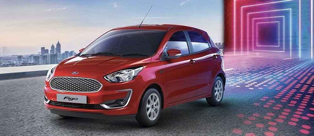 2019 Ford Figo Colors Red White Silver Blue Black Grey Gold