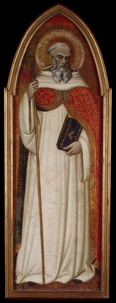 Renaissance spinello aretino san benedetto 1383 1384 tempera su tavola the hermitage - Vi metto a tavola san benedetto ...