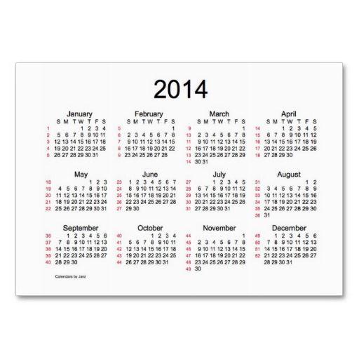 52 week calendar by janz 2014 business cards black friday 52 week calendar by janz 2014 business cards colourmoves Images