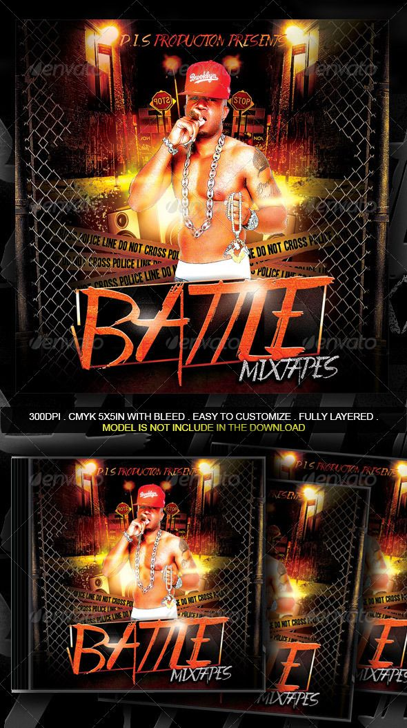 Rap Battle Mixtape Template | Mixtape, Cd cover and Cd cover template