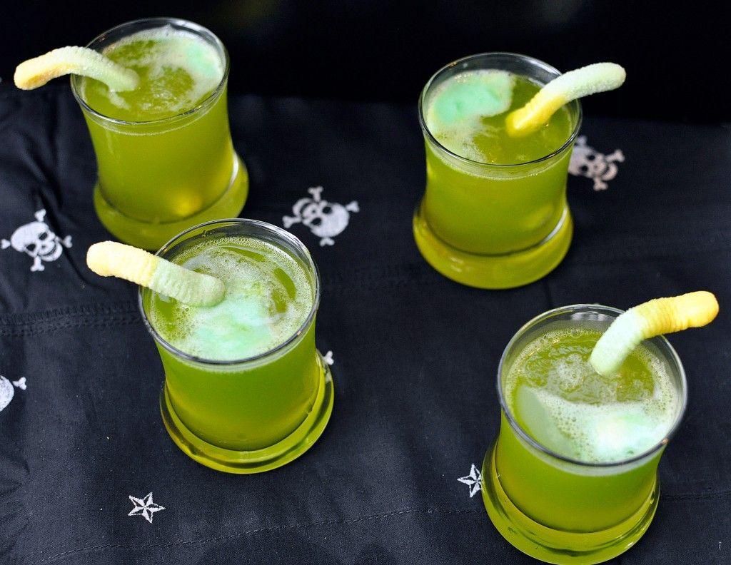 Spooky Sparkling Punch | Rezept | Halloween | Pinterest | Halloween ...