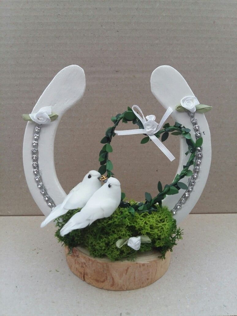 Fur Eine Hochzeit Crafts Pinterest Horseshoe Art Wedding And