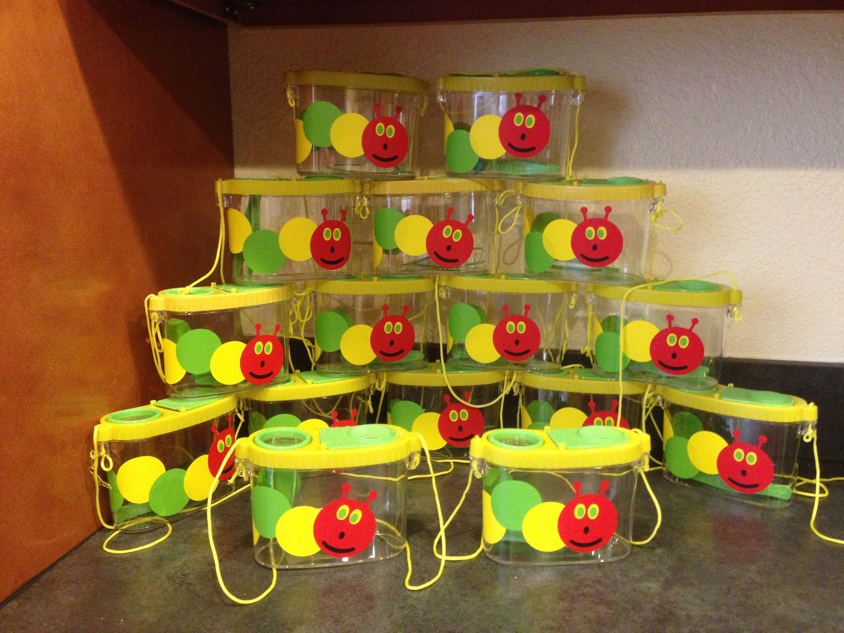 Hungry caterpillar bug catcher party favor. $4.00 each + shipping ...