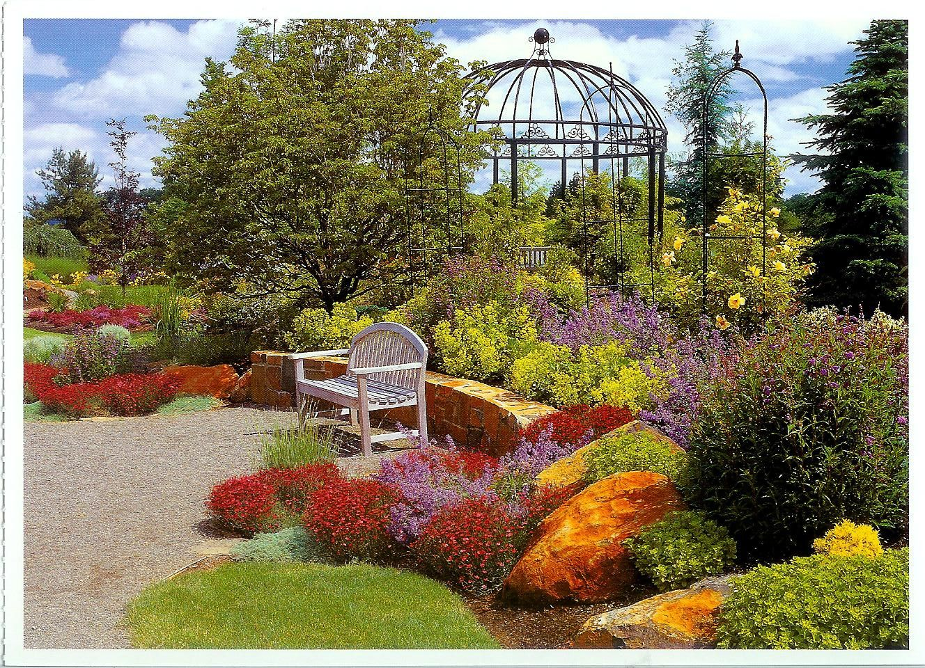 Lovely Oregon Garden