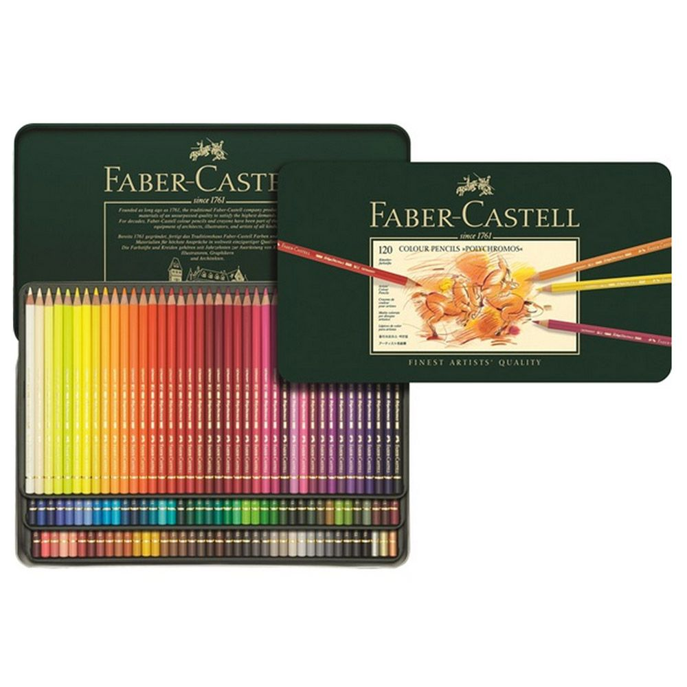 Faber Castell Polychromos Pencil Sets 120 Ct Set