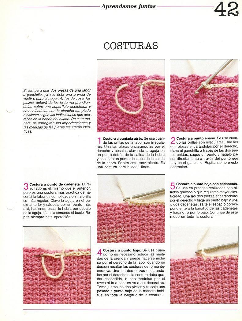 patrones asgaya: técnicas crochet | CROCHET | Pinterest | Patrones ...