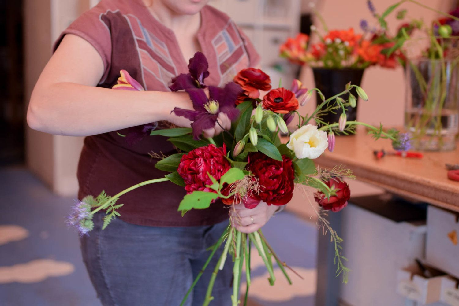 Seasonal Flowers Are My Favorite To Design With But Using