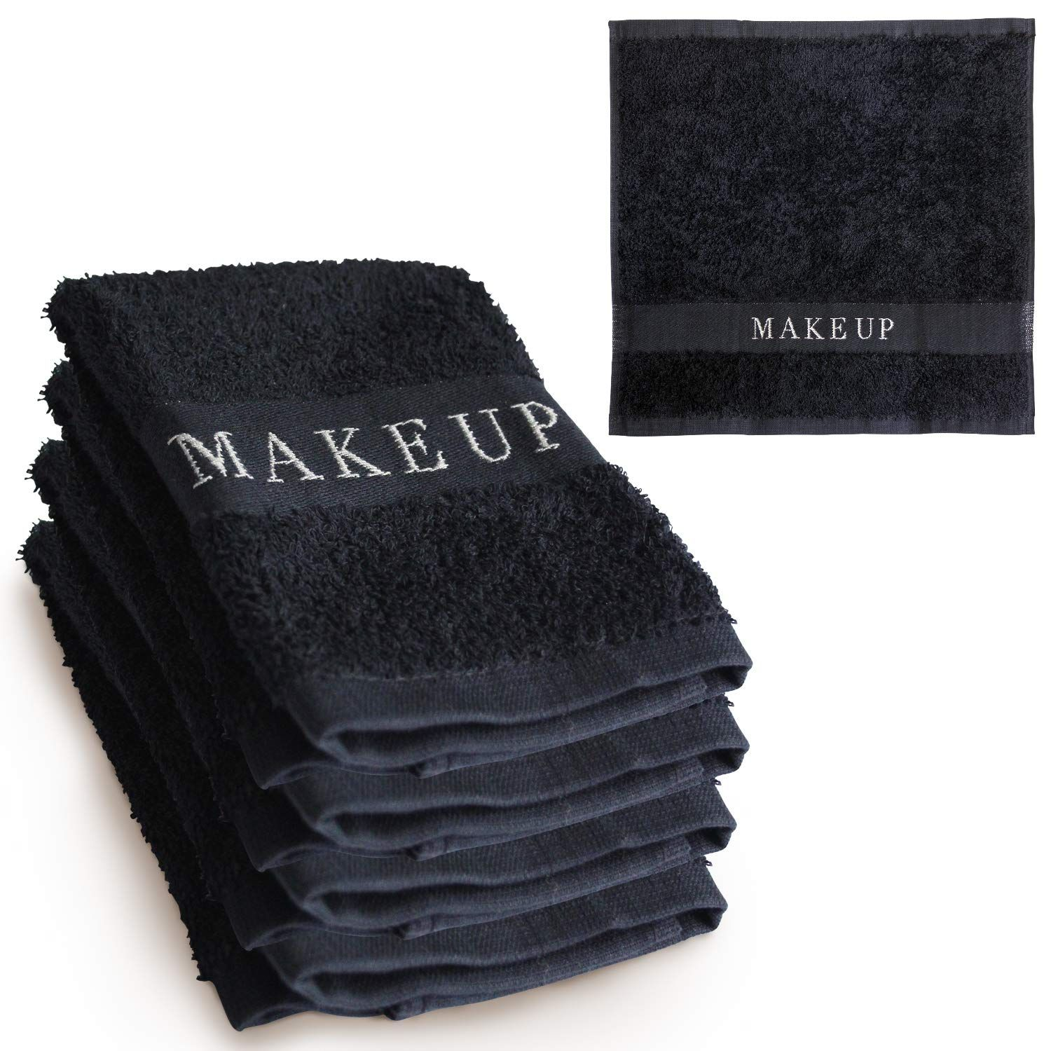 The Little Black Towel Makeup Remover Cloth (4 Pack) Plush