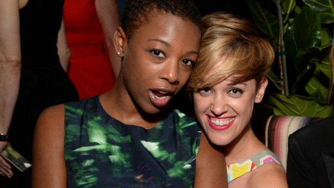 Samira Wiley And Laura Morelli