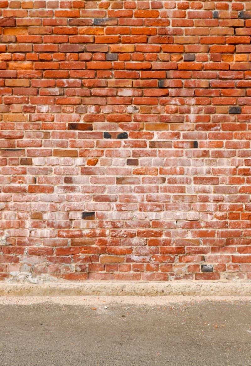 Art Fabric Brick Wall Backdrops