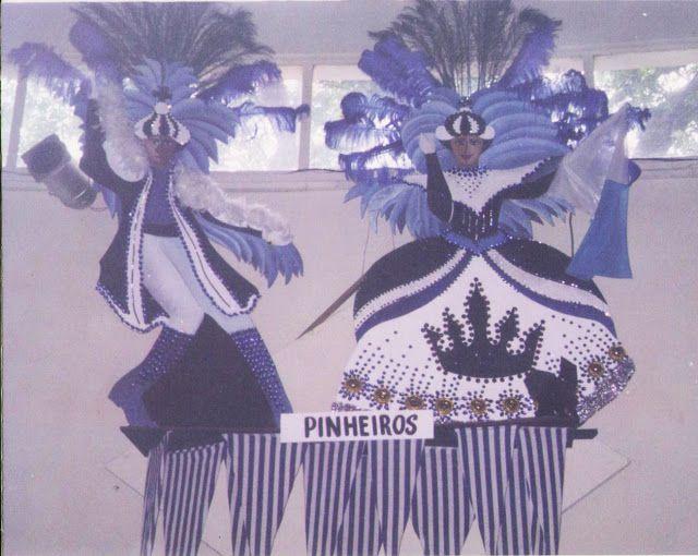 Recortes em compensado - Carnaval - Clube Pinheiros