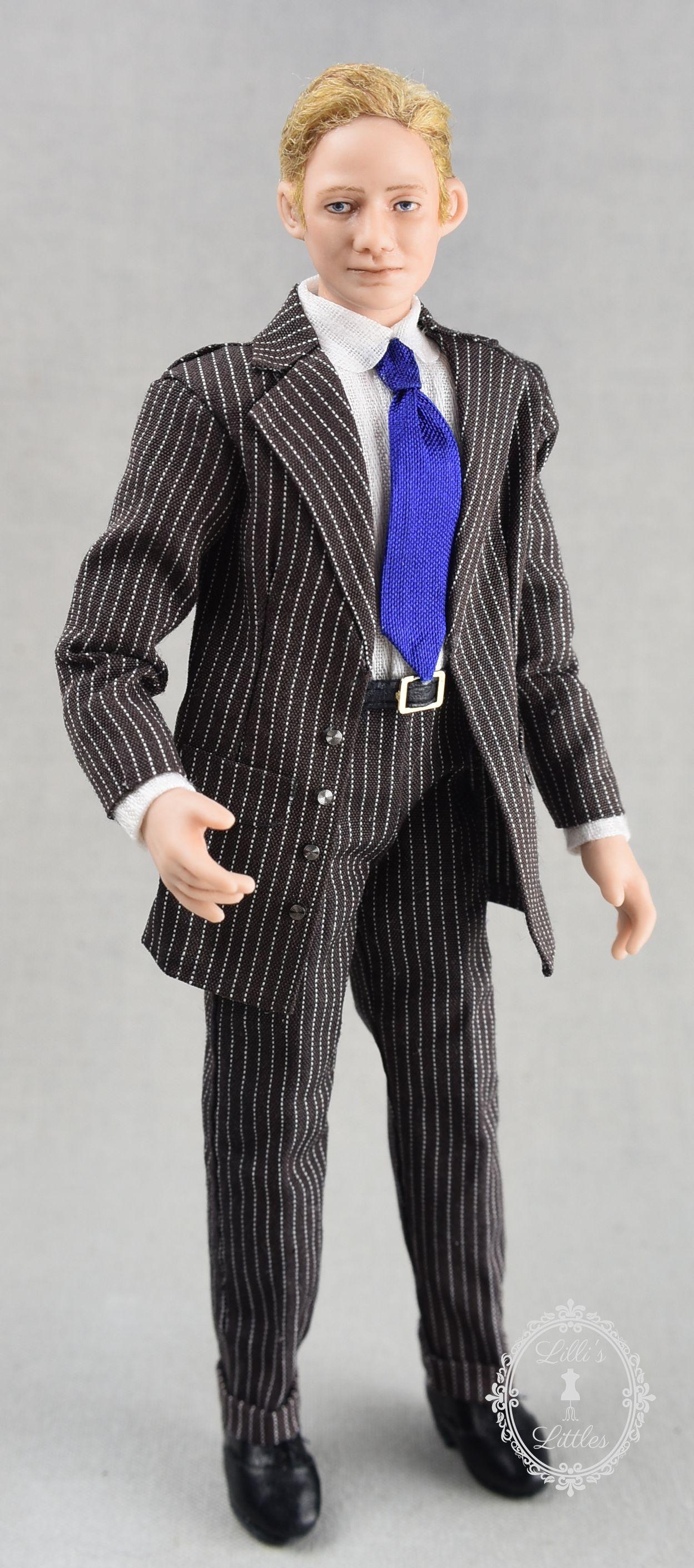 Figurine Poupée Mannequin Miniature Décoration pour 1:12 Dollhouse