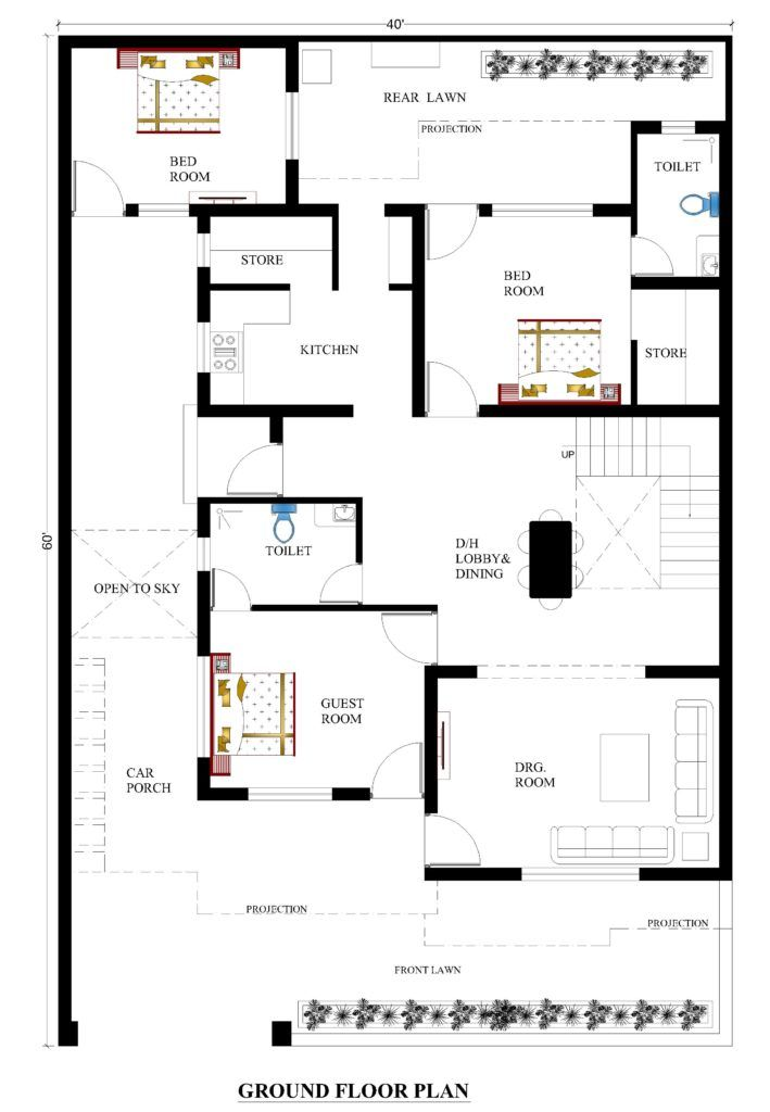 40x60 House Plans For Your Dream House House Plans 40x60 House Plans Metal Building House