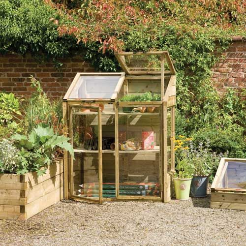 Forest Garden Mini Greenhouse | Forest garden, Mini ...