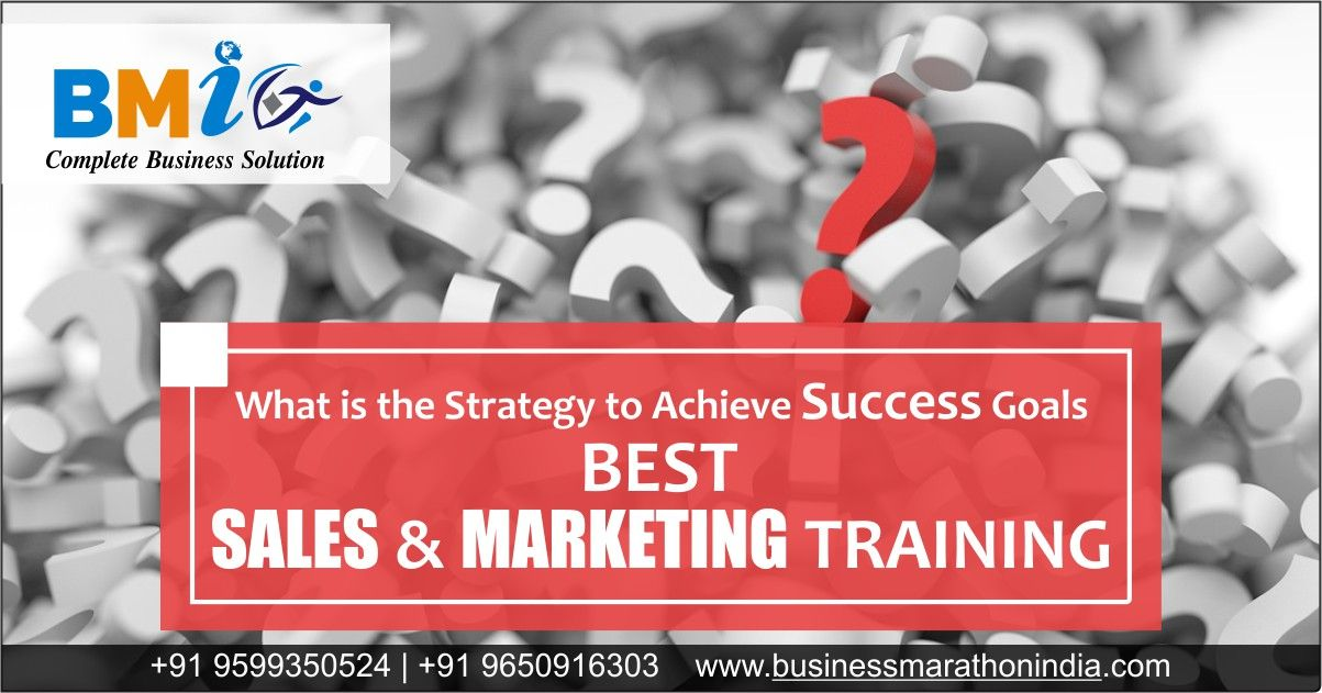 A quality sales and marketing training program is important for a