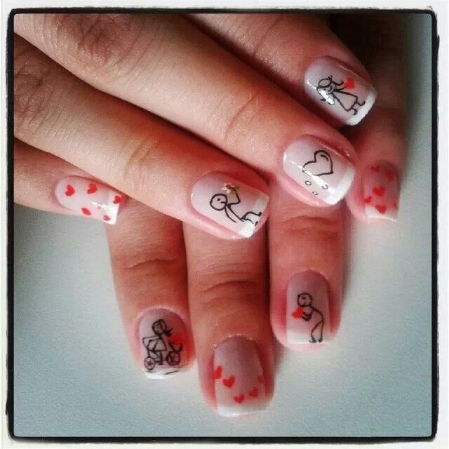 Pin By Carsten Hope On Nail Art I Love Valentines Nails Best Nail Art Designs Nail Designs Valentines
