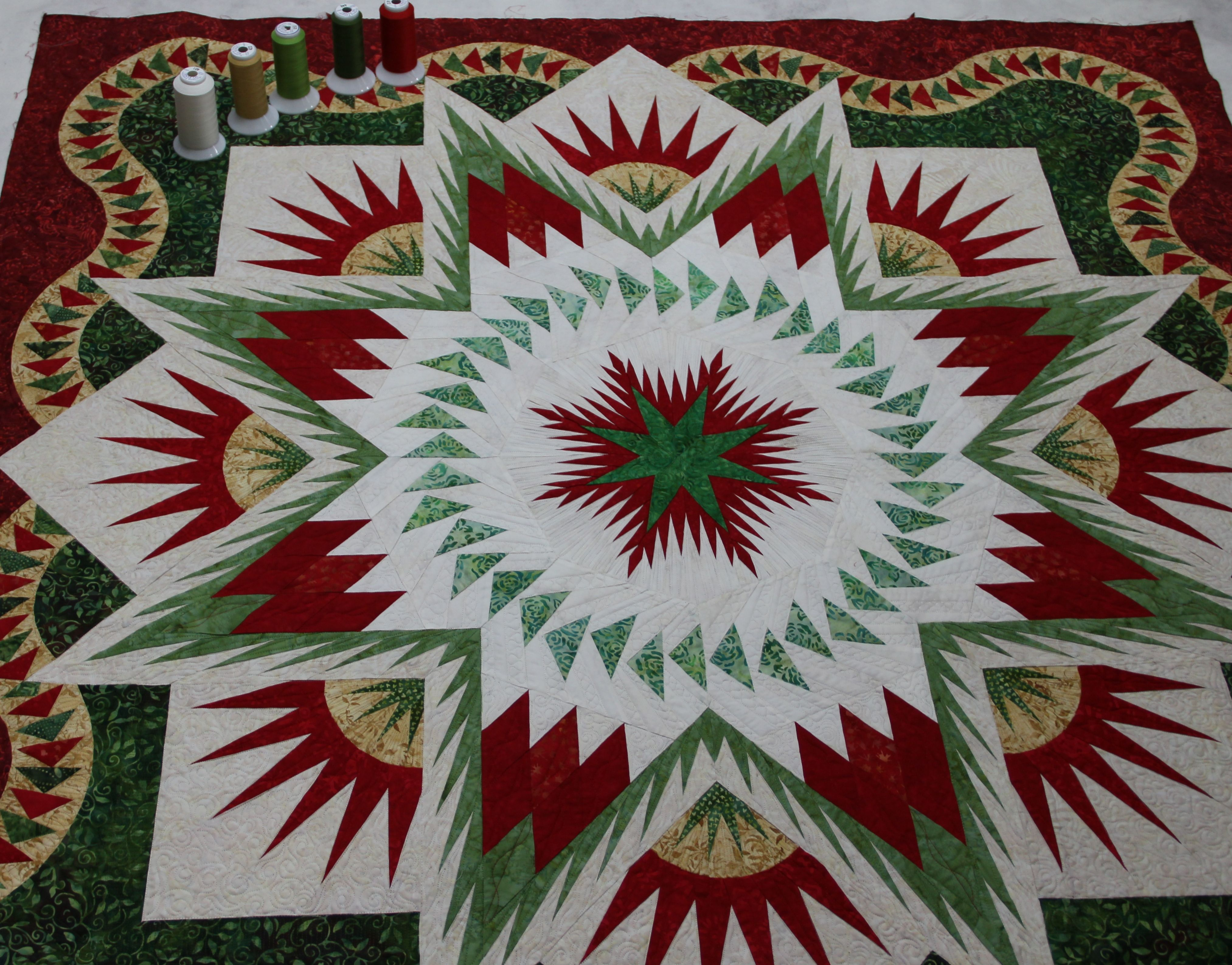 glacier star quilt - Google Search | Quilt - Awesome Paper Piecing ... : glacier quilts - Adamdwight.com