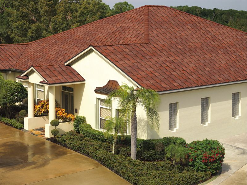 Venetian Coral Gaf Designer Roof Shingles Home Architectural Shingles Roofing Contractors Roofing
