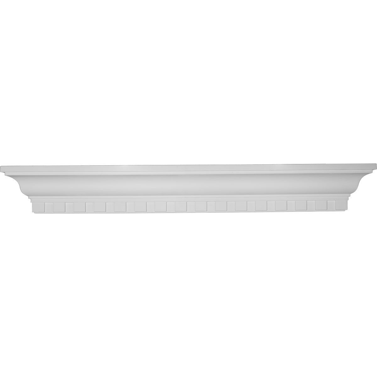 Ekena Millwork SH36X04X04DE 36-Inch W x 4 1/2-Inch H x 4 1/8-Inch P Dentil Shelf ** Check out this great image  : Corner Shelves