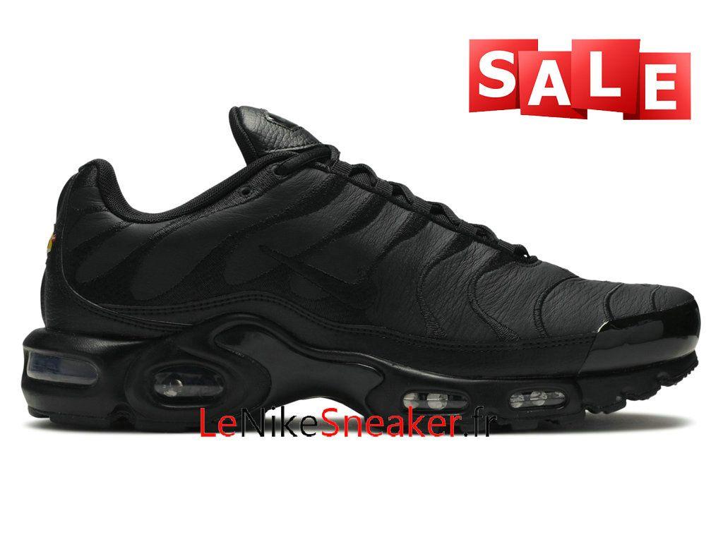 chaussure nike cuir noir