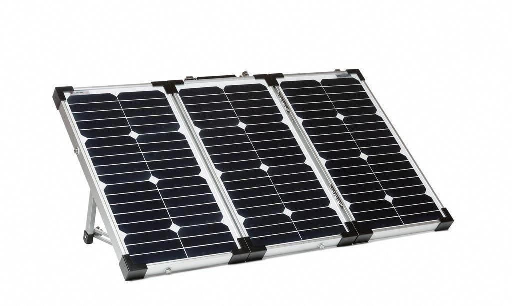 Overland Solar 60 Watt Portable 3 Panel Folding Solar Kit Solarpanels Solarenergy Solarpower Solargenerator Solarpanelk Best Solar Panels Solar Kit Solar Roof
