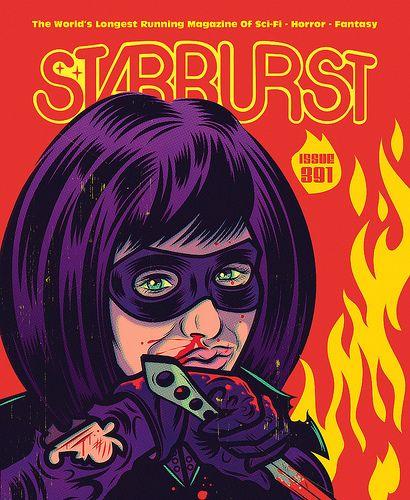 Cover, Sci Fi Horror, Magazine