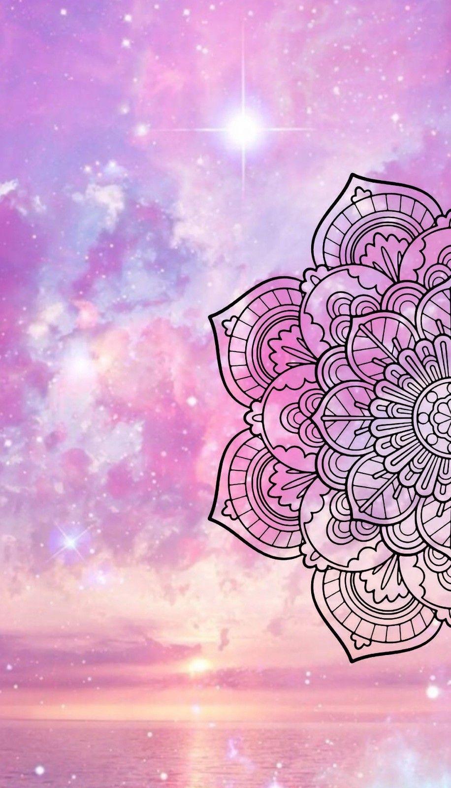 Colourful mandala  ideas para wallpaper  Mandala, Wallpaper y Cellphone wallpaper