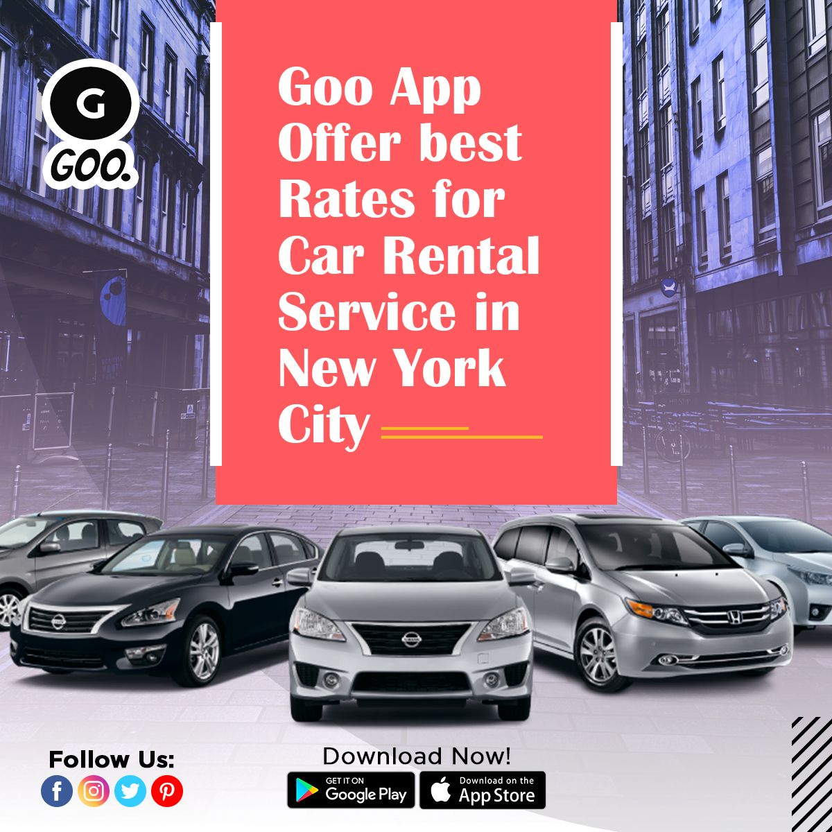 Goo App Offers Best Rates For Car Rental Services For Pickup Drop Airport Transfer Tours Sightseeing Services In New Car Rental Service Car Rental Rental