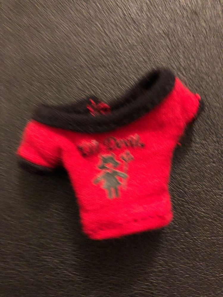 Bratz Babyz poupée Roxxi Twiinz rouge et noir LIL DEVIL bag