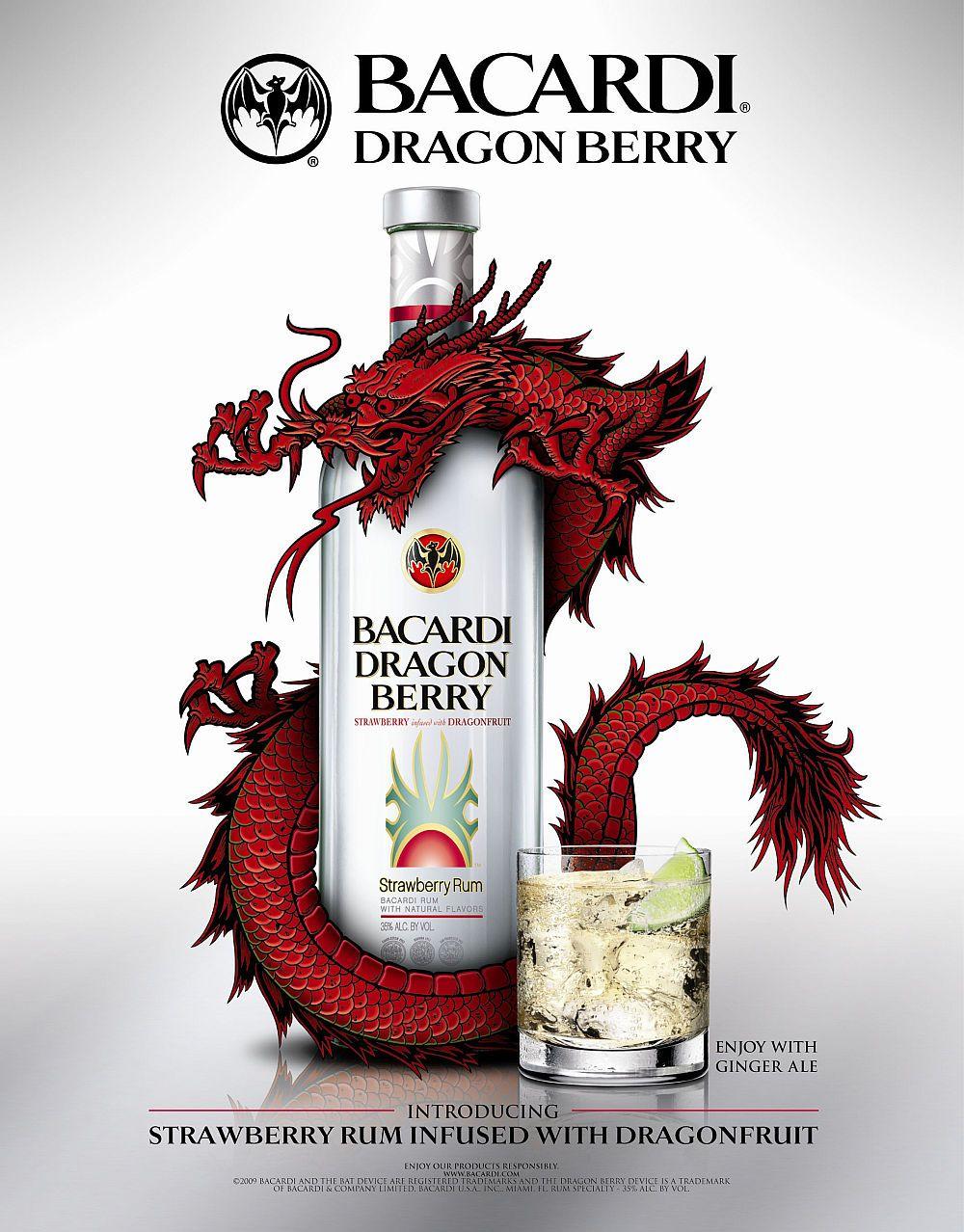 bacardi flavors alcohol content