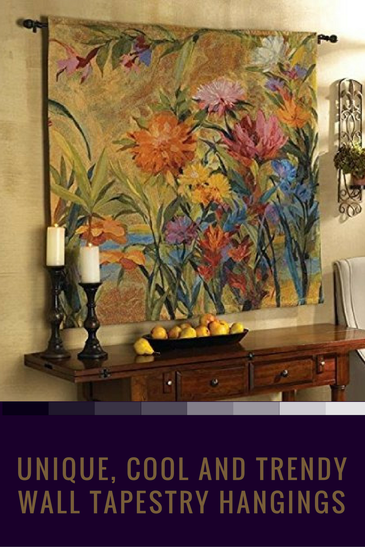 Wall Tapestry Hangings Can Really Give Your Home Much Needed Texture, Color  And Ambiance.