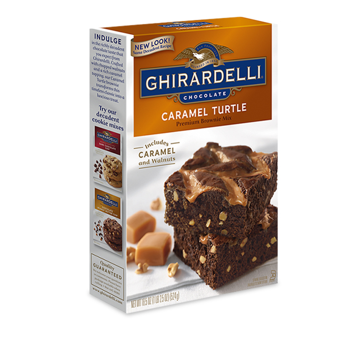Caramel Turtle Brownie Mix (case of 12)