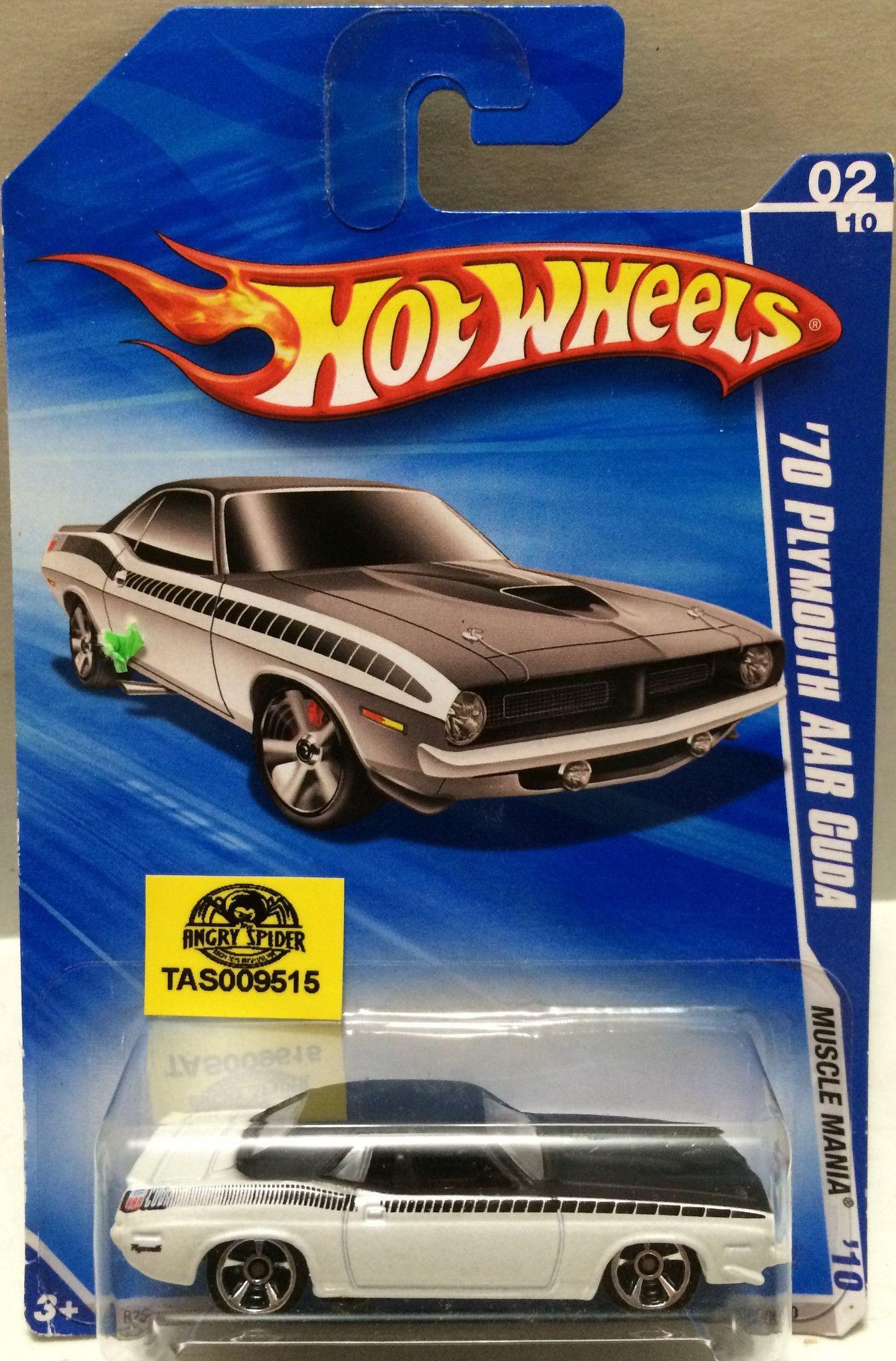 Mattel legends 1 24 1969 hot wheels twin mill concept car electronic -  Tas009515 Mattel Hot Wheels Racing Stock Car 70 Plymouth Aar Guda