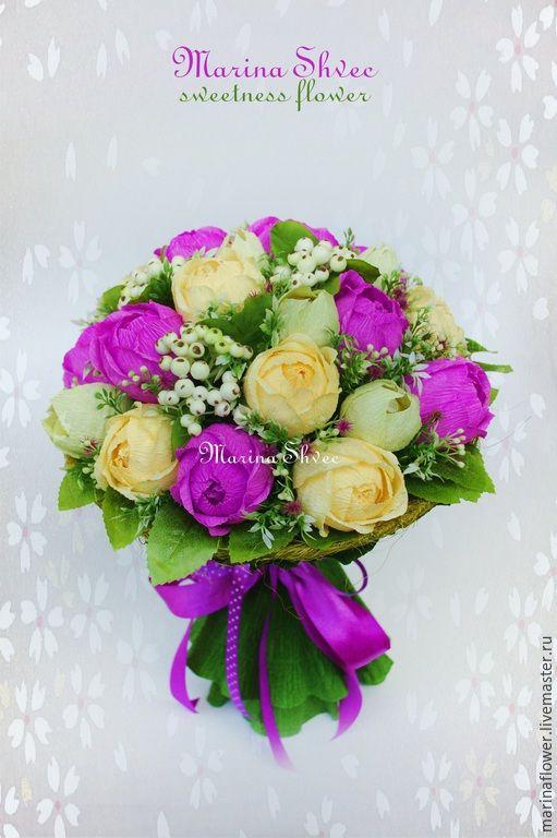 Купить цветы с конфетами из гофрированной бумаги английские розы дэвида остина купить саженцы в красноярске