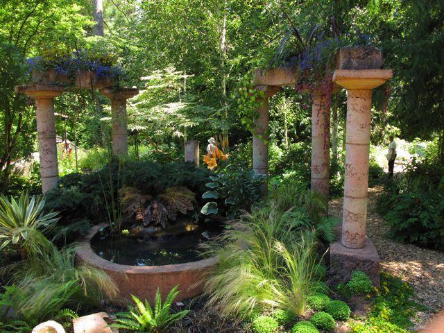 1jpg (640×480) Cascadas Pinterest Columnas, Cascadas y Ideas para - Cascadas En Jardines