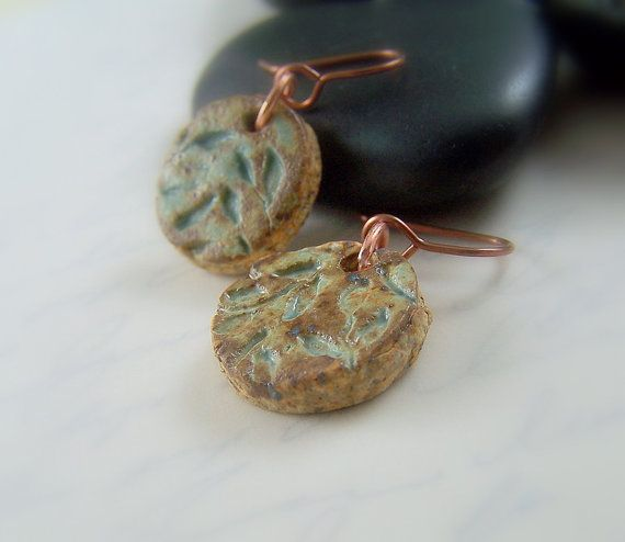 Pottery Copper Earrings will be gifted to the Celebrities in the GBK Celebrity Gift Lounge for the 2012 Oscar's.