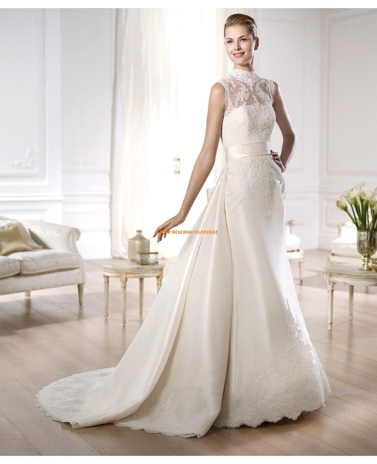 Wunderschön Elegant Brautkleider aus Satin | brautkleider 2014 ...