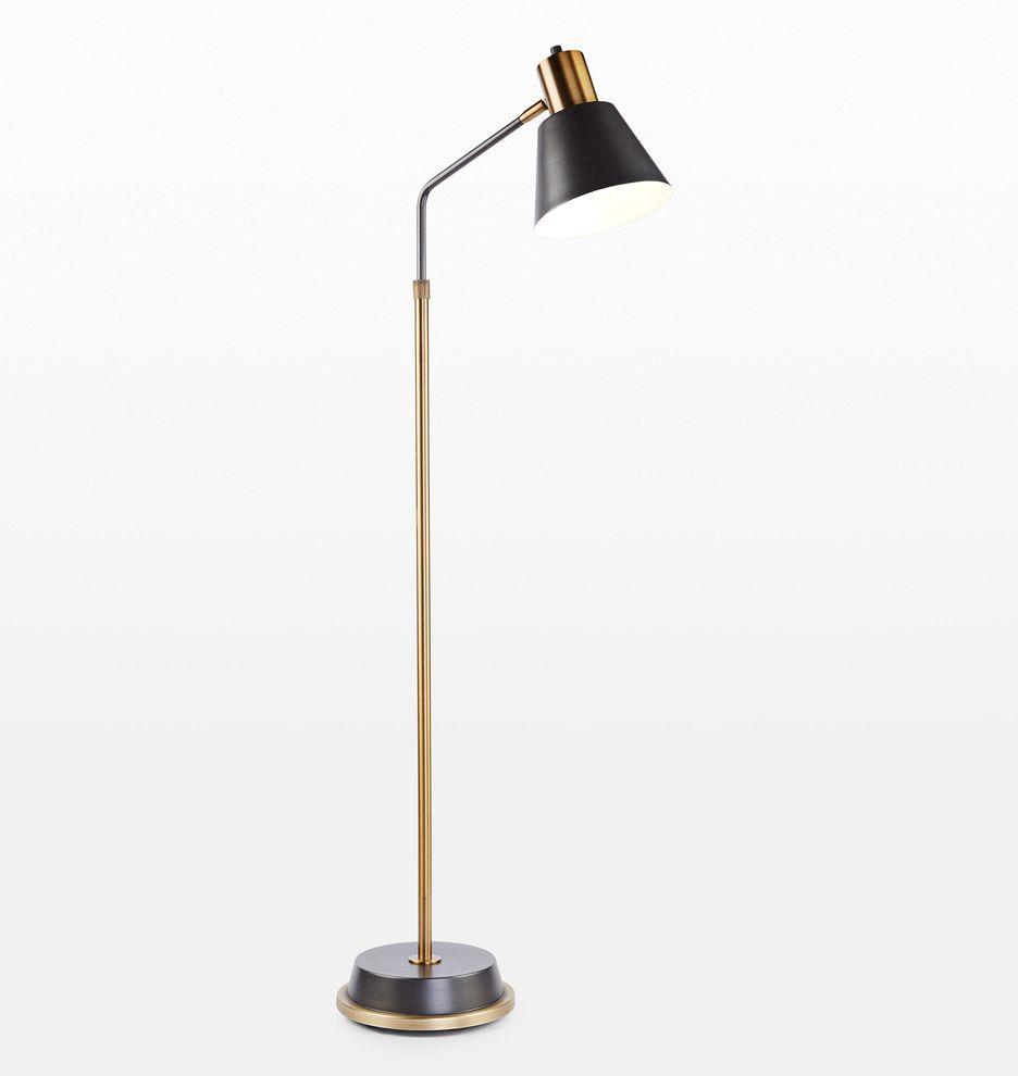 Cylinder Arm Task Floor Lamp Rejuvenation In 2021 Task Floor Lamp Floor Lamp Lamp