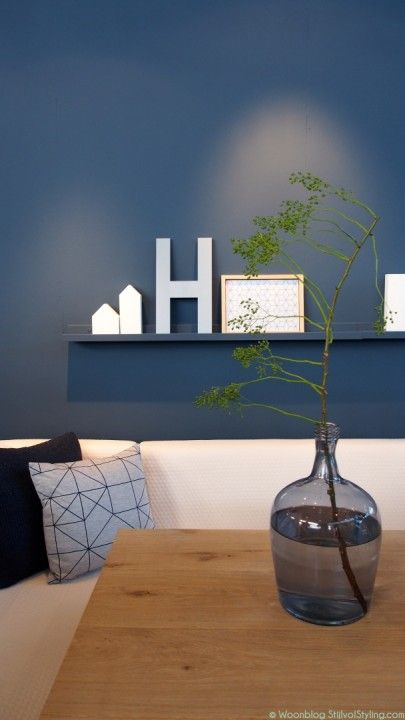 Interieur | Interiors, Decoration and Blue walls
