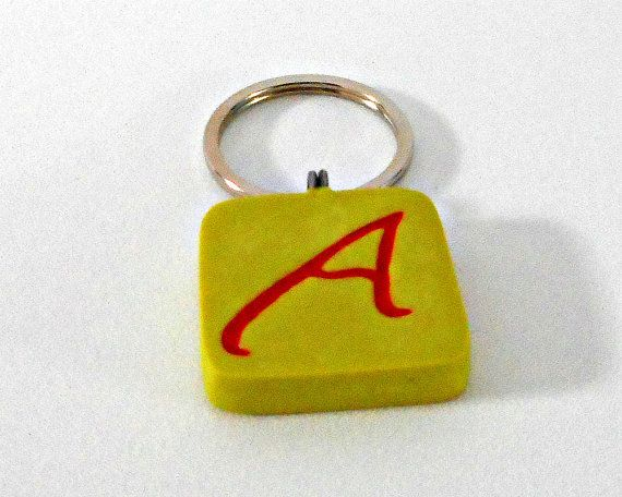 Atheist Symbol Key Ring Outcampaign Red A Scarlet Letter Wasabi
