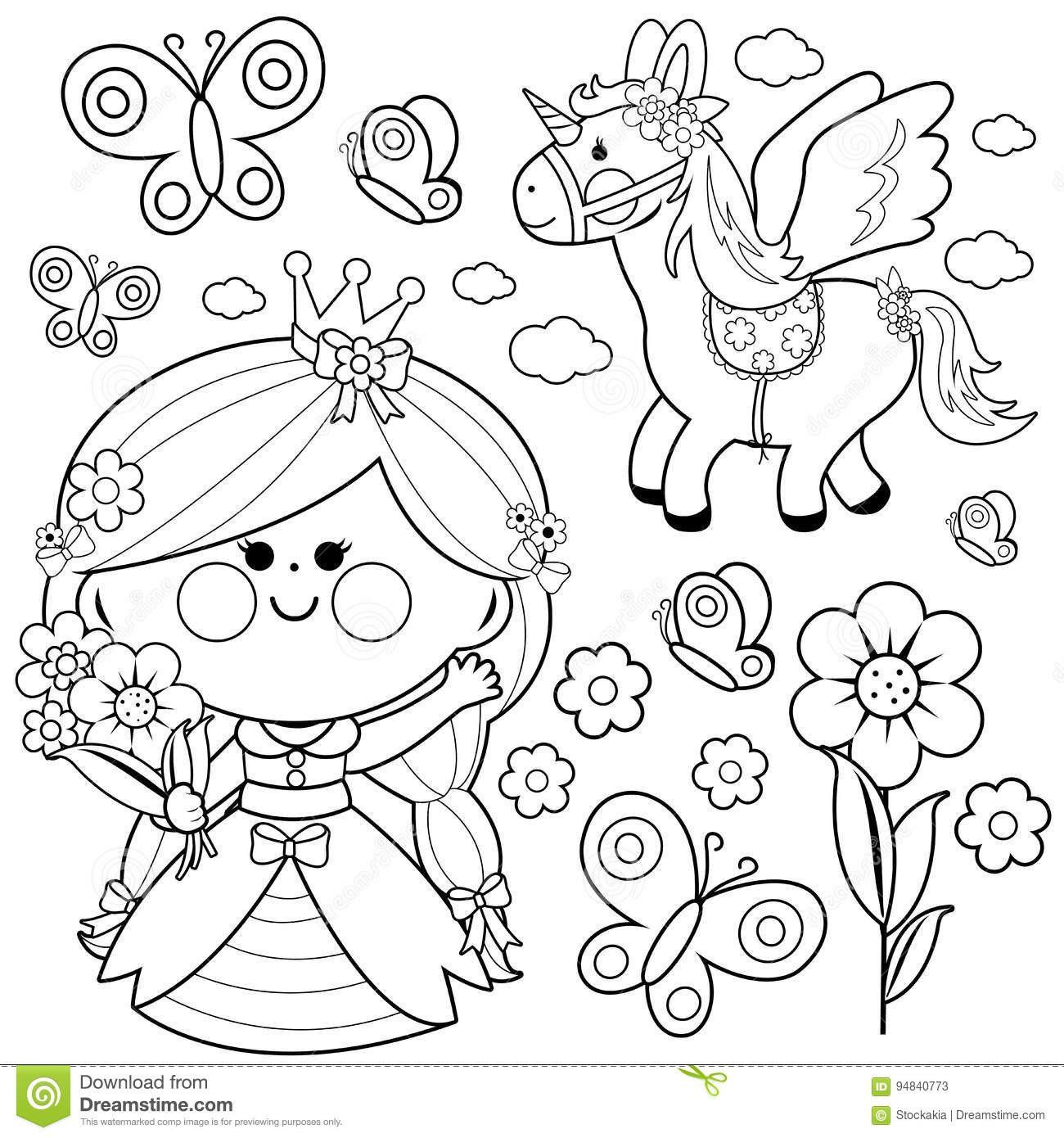 Fairy Tail Coloring Pages Fresh Coloring Pages Outstanding Prince And Princess Coloring Unicorn Coloring Pages Princess Coloring Pages Butterfly Coloring Page