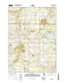 Lakeview Michigan Map.Lakeview Mi Topo Map 1 24000 Scale 7 5 X 7 5 Minute Historical